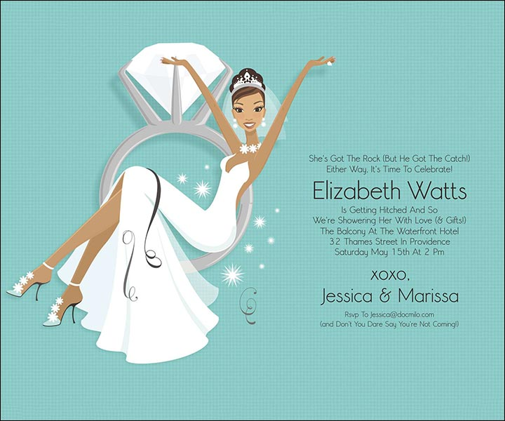 Party Wedding Shower Invite