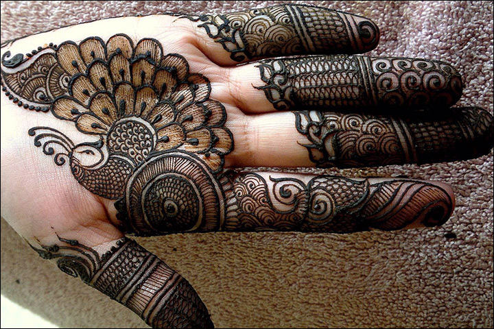 Mehndi Designs For Palm : Palm mehndi designs from simple to stunning