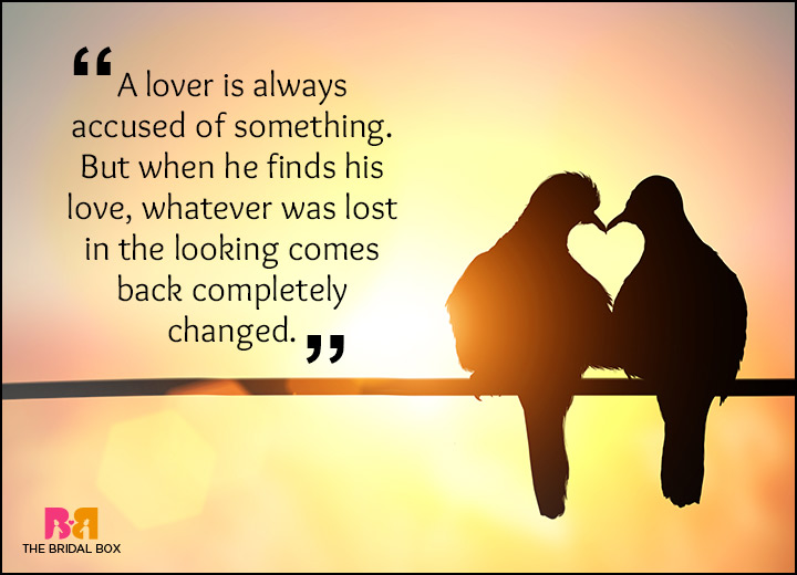 Rumi Love Quotes   A Lover Will Always Find His Lost Love