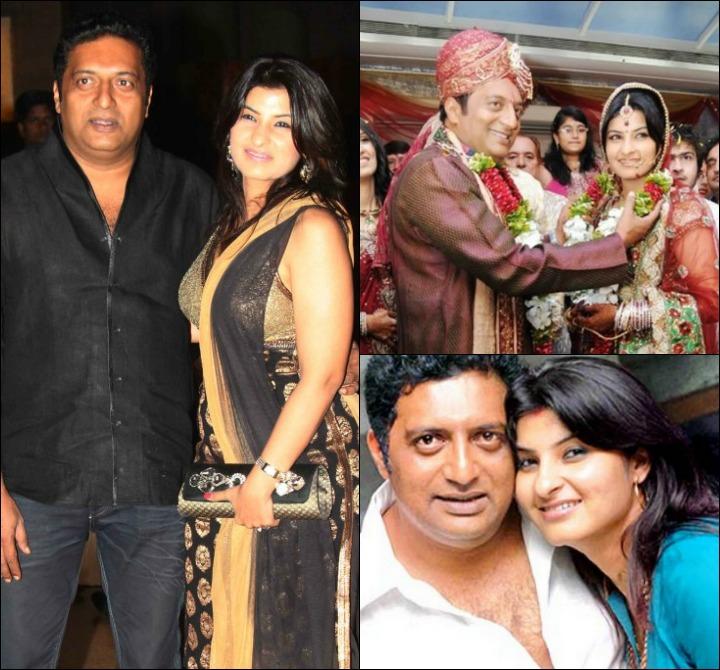 "Prakash Raj Marriage: ""My Ex Wife Loves My Children Too"""
