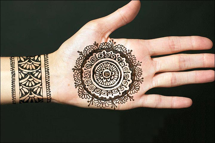 Circle Mehndi Designs Top 26 Round Mehndi Designs Of 2016
