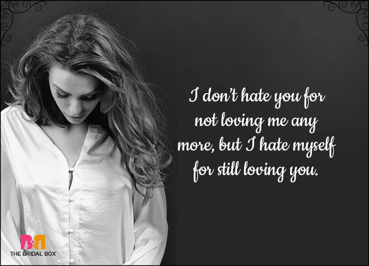 hate love relationship status waiting