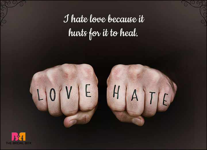 27 Hate Love Status Messages For Whatsapp And Facebook