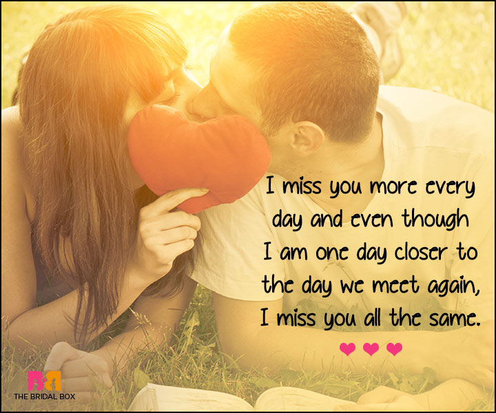 I Love U Messages For Boyfriend - One Day Closer