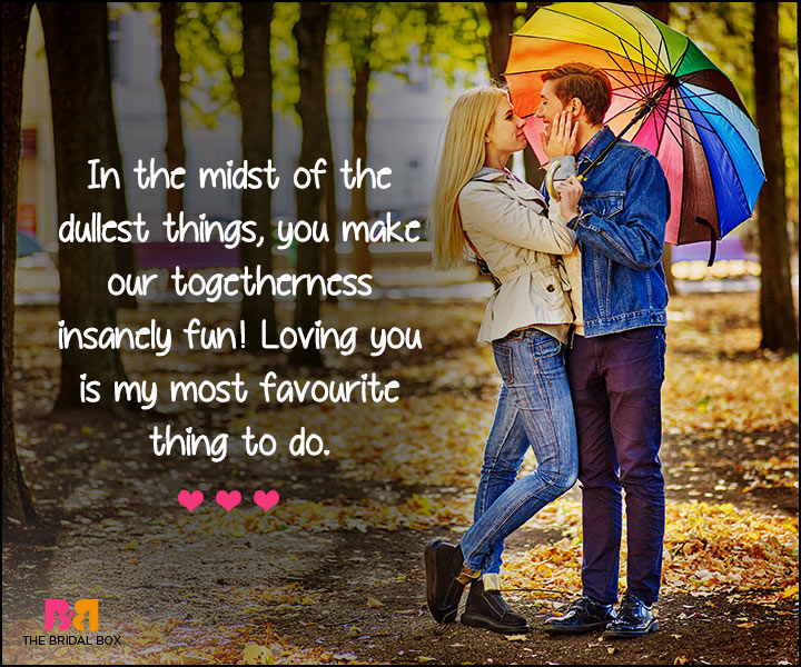 I Love U Messages For Boyfriend - My Most Favourite Thing To Do
