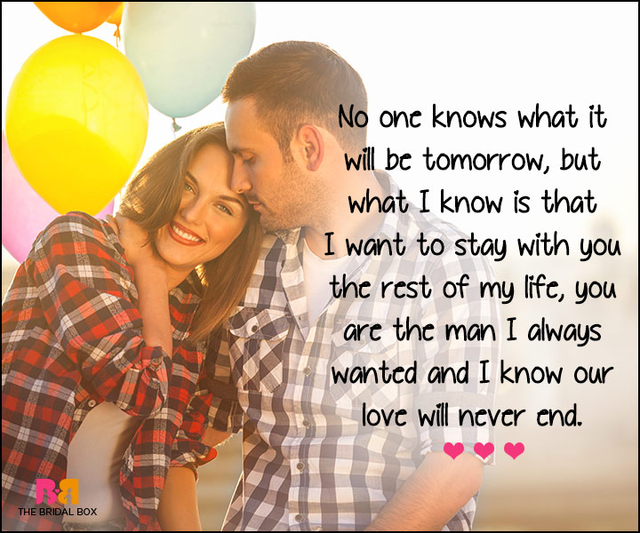 I Love U Messages For Boyfriend - Our Love Will Never End