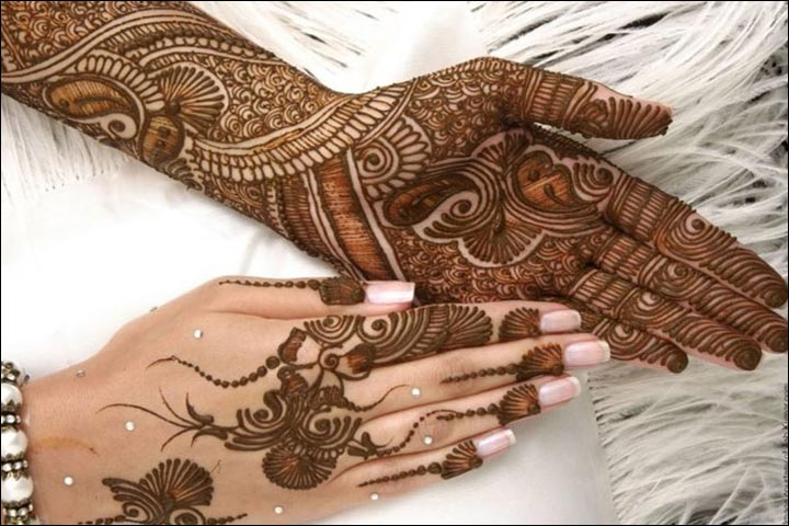 Mehndi For Head : Muslim mehndi designs best you ll fall in love with