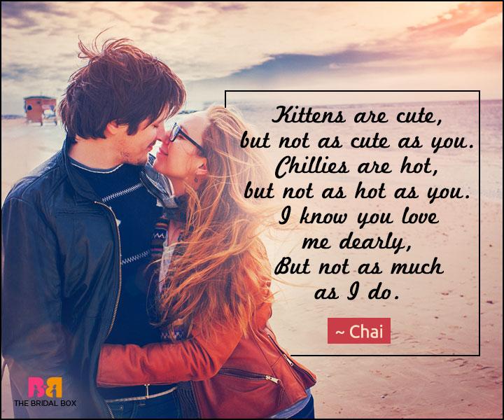 Love poem dating