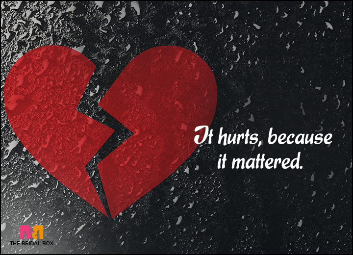 Feeling Hurt Quotes 15 Candid Love Rejecti...