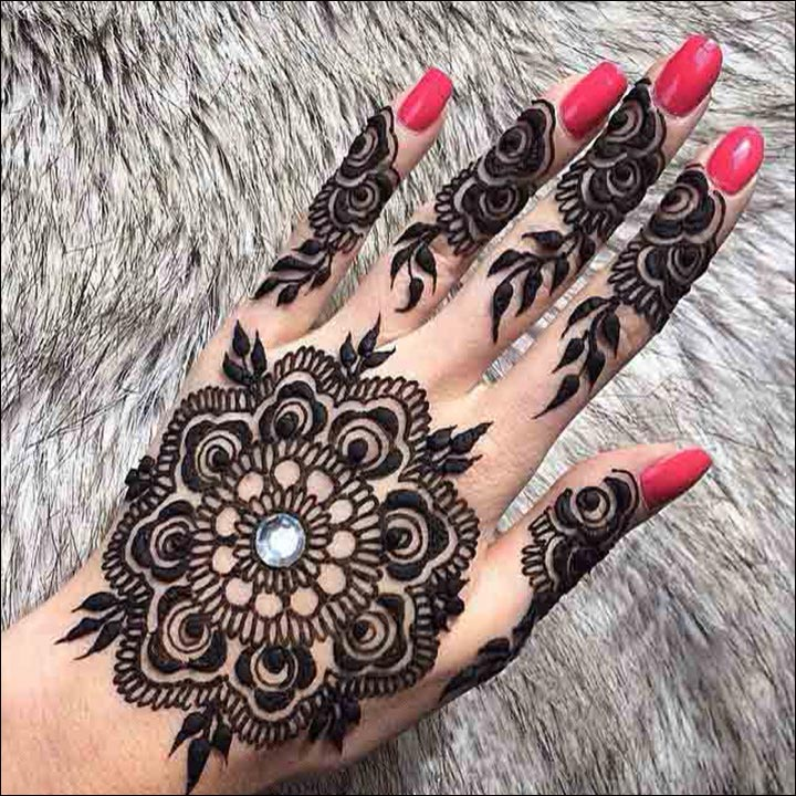 100 Latest Bridal Mehndi Designs with Images [2017