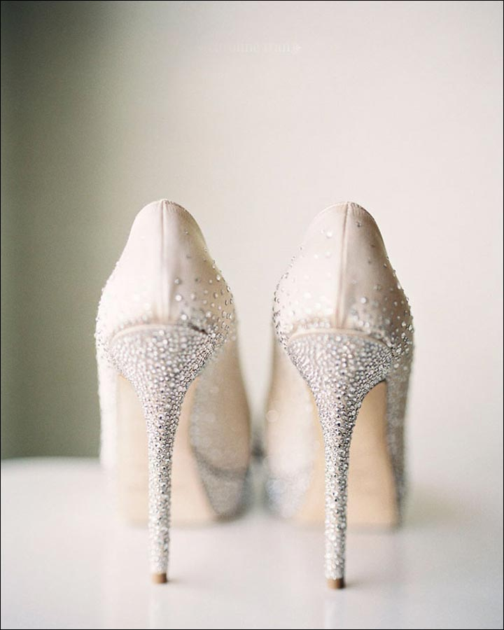 Jimmy Choo Wedding Shoes Snow Dust