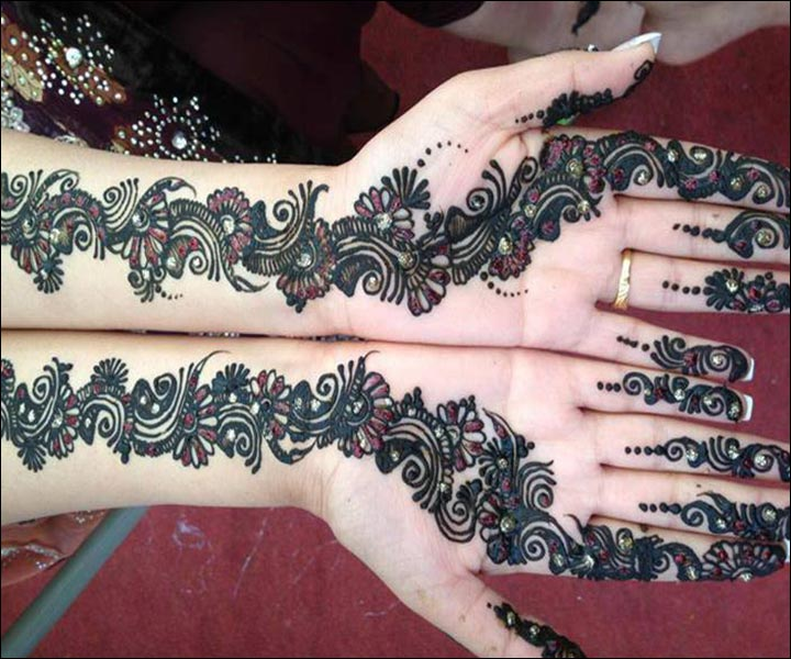 Mehndi Designs Hands S Free Download : Simple muslim mehndi designs for hands domseksa