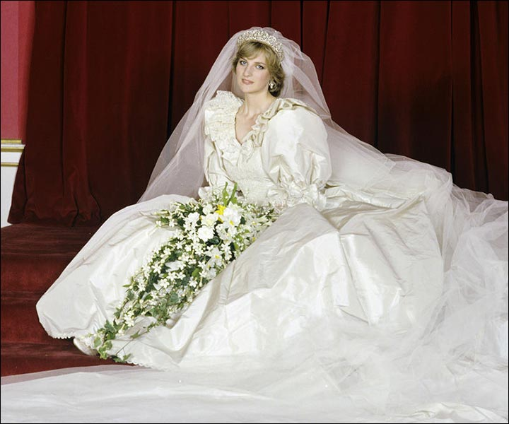 Princess Diana\'s Wedding Dress - The Original & The Inspired