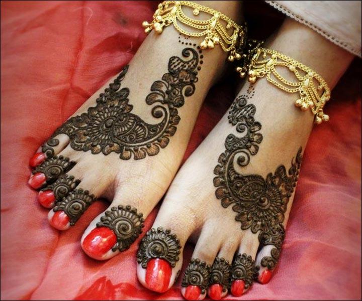 Mehndi Feet Designs 2016 : Pretty pakistani arabic mehndi designs for you