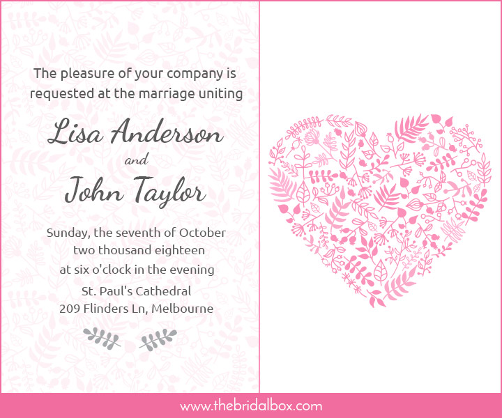Wedding Invitation Wording Ideas With Poems: 50 Wedding Invitation Wording Ideas You Can Totally Use