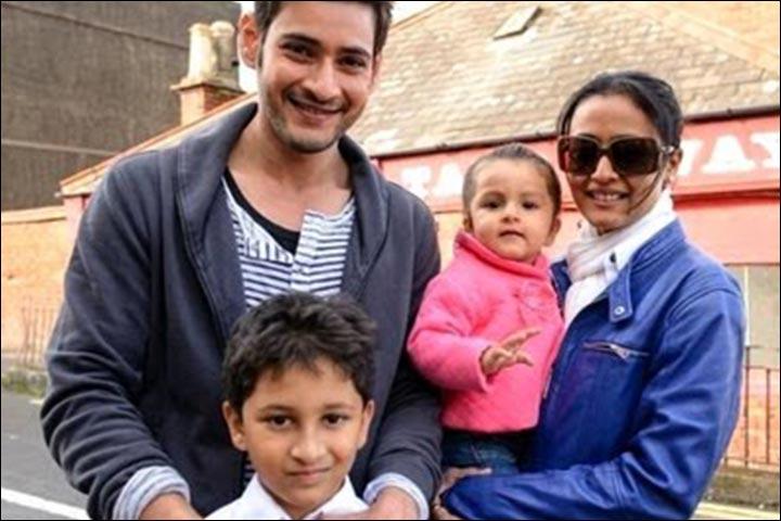 Image result for mahesh babu family