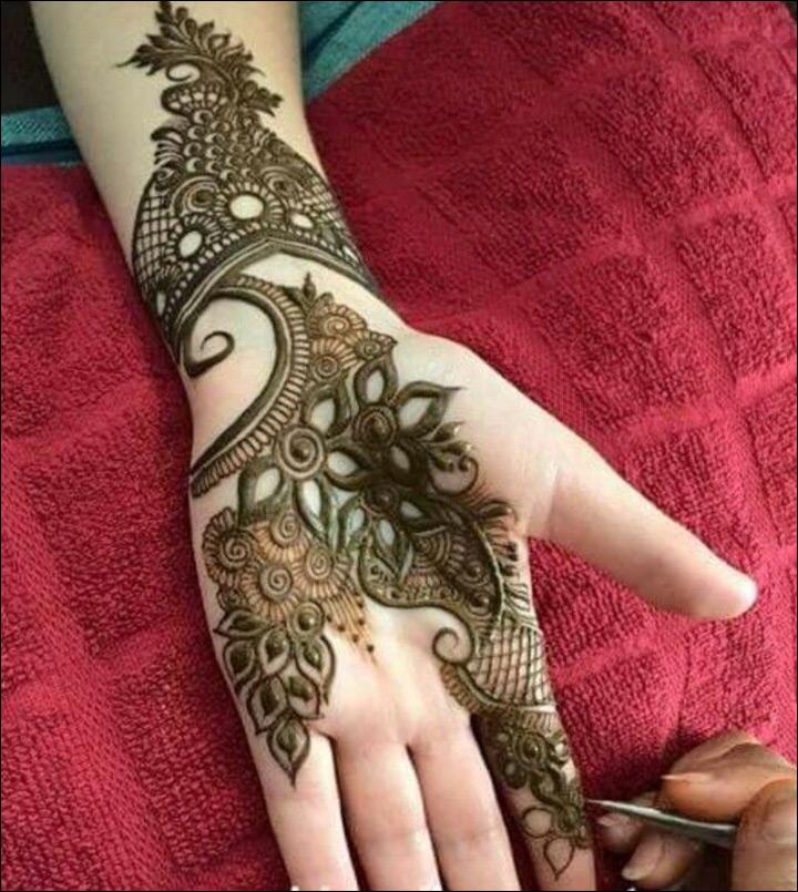 Khaleeji Henna Designs Gallery