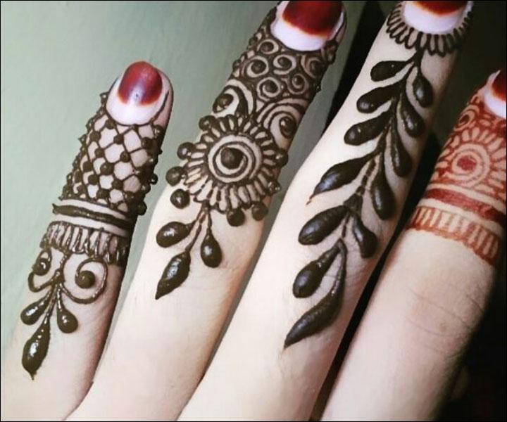 Mehndi Patterns Small : Mehendi design small makedes