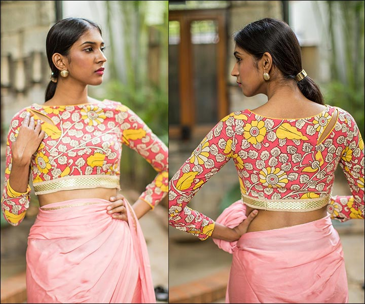 boat neck blouse designs 15 latest blouses are the rage