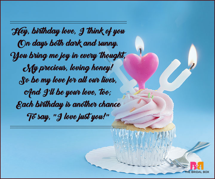 Birthday Love Poems 17 Wishes In True Poetic Style – Birthday Greeting Poems