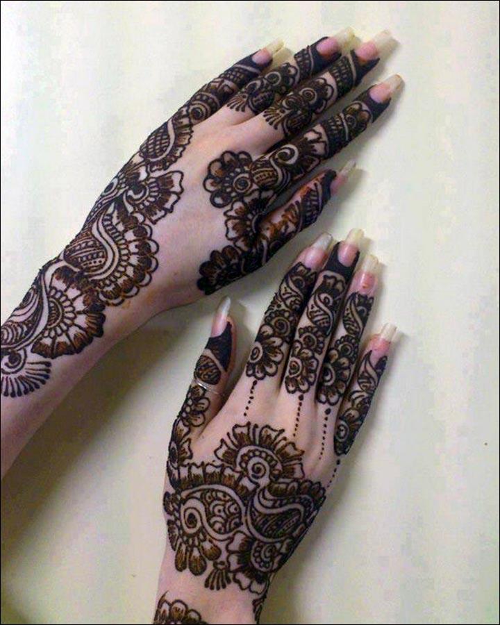 A-Bouquet-Of-Beauty-Pakistani Mehndi Designs