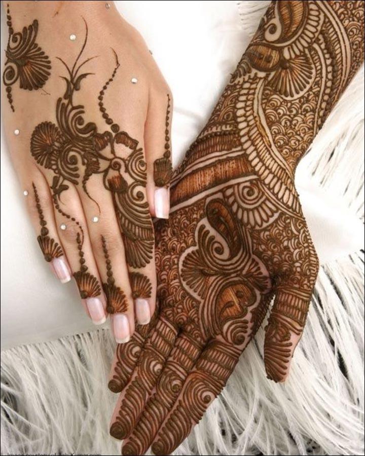 A-Fantastic-Flow-Pakistani Mehndi Designs