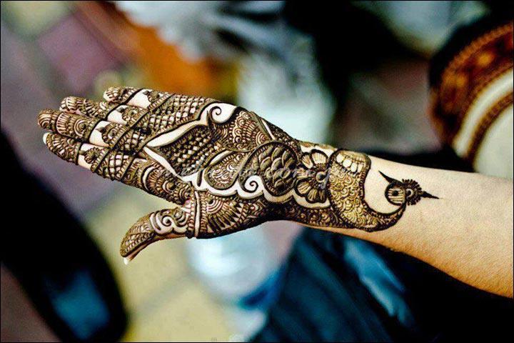 Classic-Peacock-Pakistani-Mehndi-Design-Pakistani Mehndi Designs