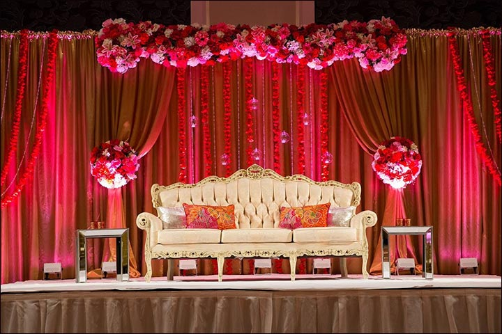 Wedding backdrops 25 stage sets for a fairy tale wedding junglespirit Gallery