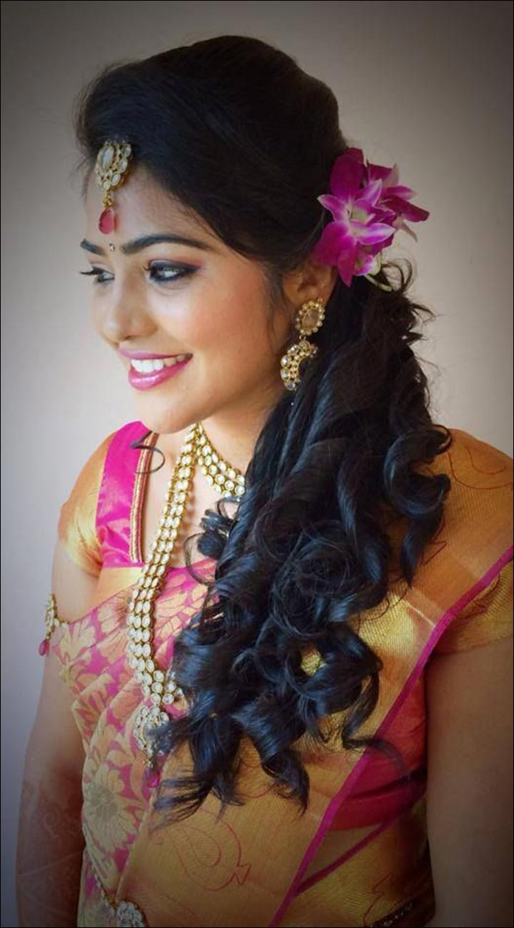 62 wedding hairstyle kerala hindu