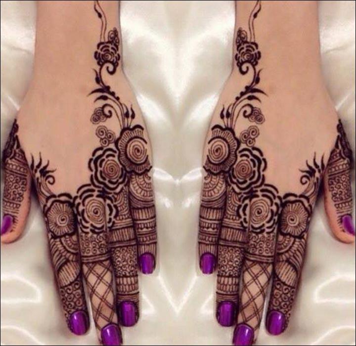 Stunning-And-Stylish-Pakistani-Mehndi-Design