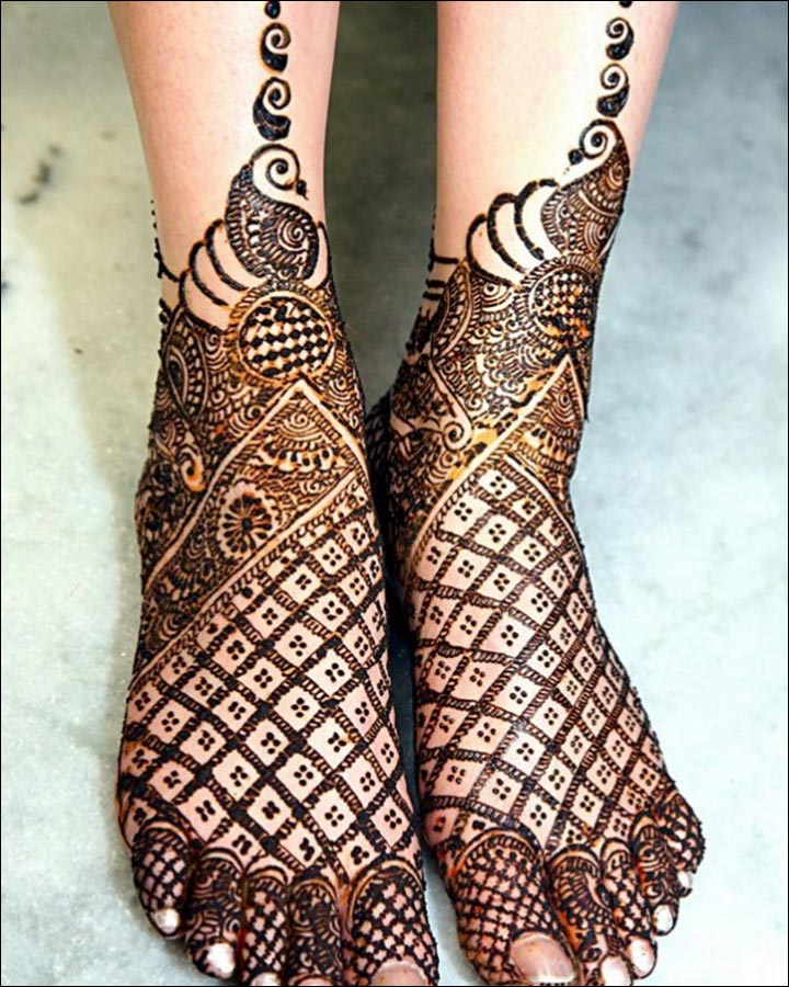 Pakistani Mehndi Designs: 40 Exquisite Designs To Make ...