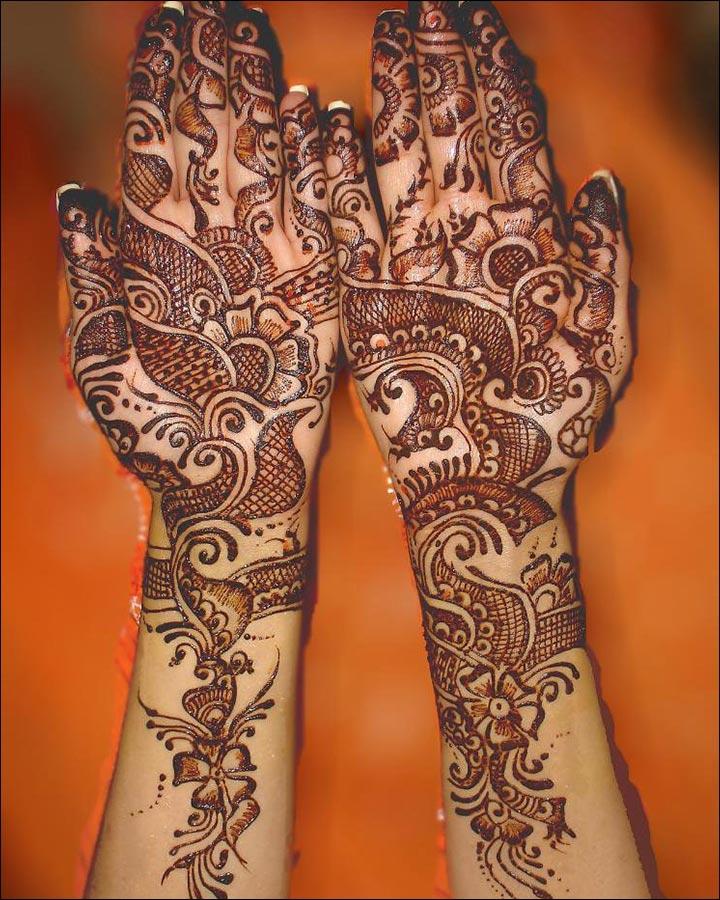 Trailing-Trend-Pakistani Mehndi Designs
