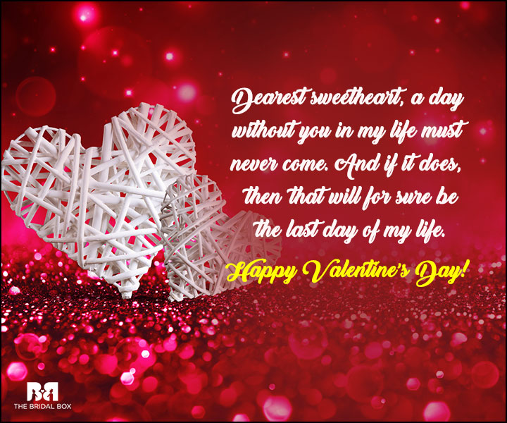 24 lovey dovey valentine 39 s day quotes for her for Valentine day love quotes