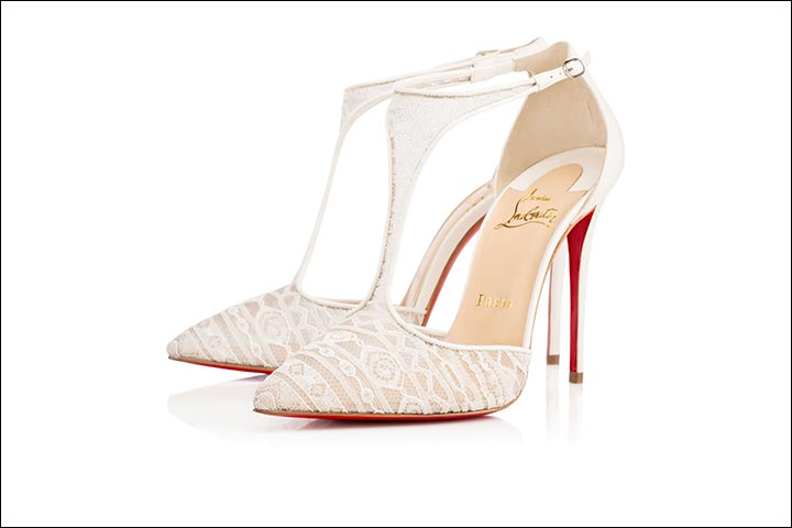 promo code 829c3 dbb3b Colourful Bridal Shoes: 11 Bridal Heels That Scream Out Style!