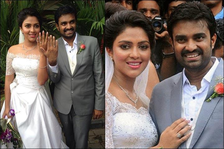 Amala Paul Marriage - Amala And Vijay Engagement Pics