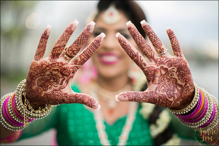 New Mehndi Ceremony : Mehendi ceremony the essence of it in a nutshell