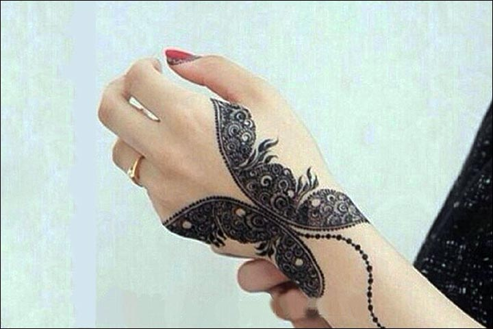 Mehndi Henna Butterfly : Butterfly mehndi designs beautiful you ll love