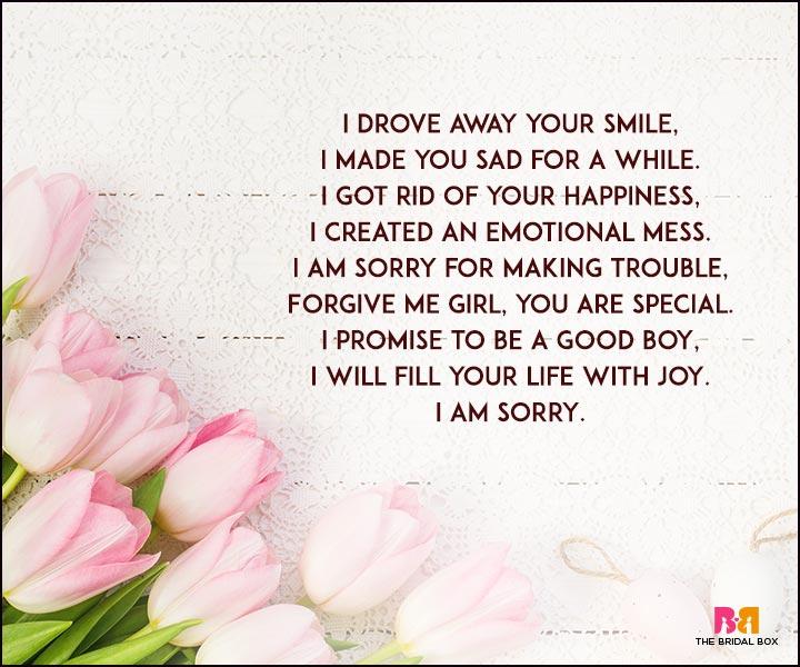 Sorry Love Poems - A Good Boy