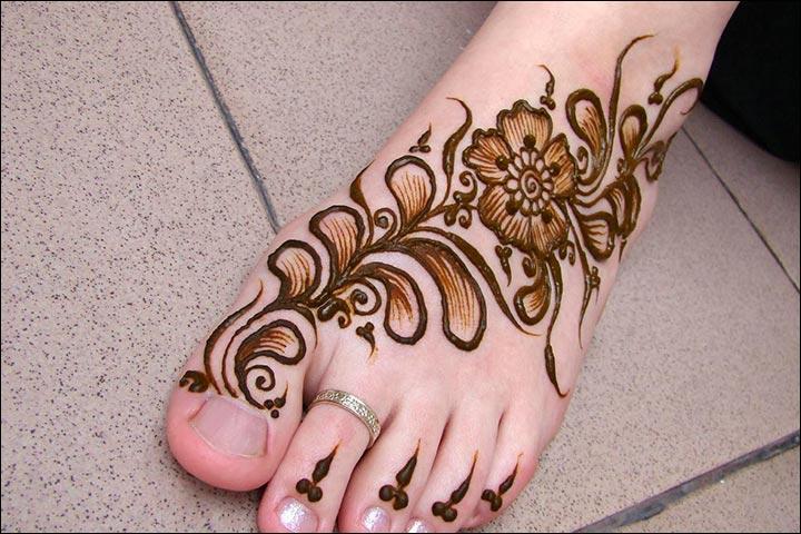 11 Trendy Arabic Foot Mehndi Designs You Ll Love