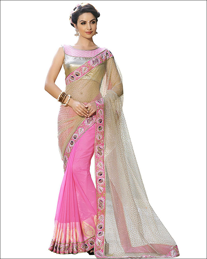Net Saree Draping: 8 Useful Tips And Ideas To Dress In Style