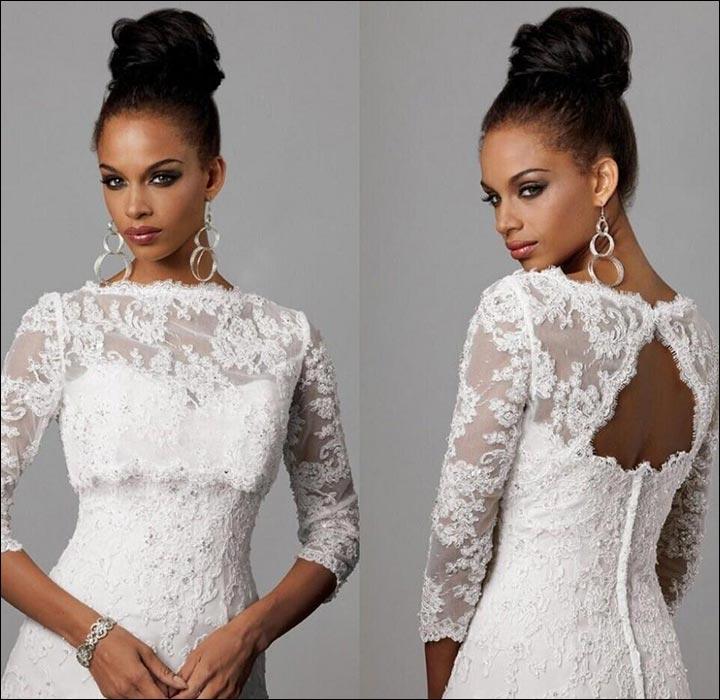 10 Killer Wedding Dresses For Older Brides