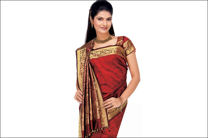 How To Wear A Coorgi Saree