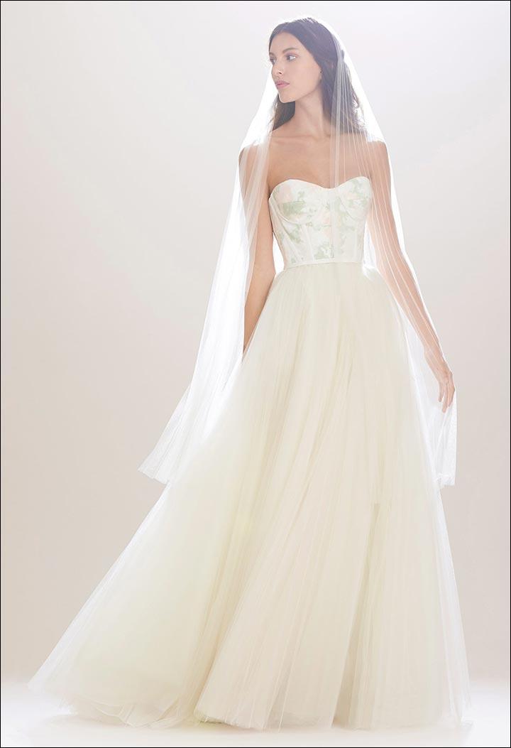 Best Of Carolina Herrera 14 Wedding Dresses To Die For,Badgley Mischka Wedding Dress