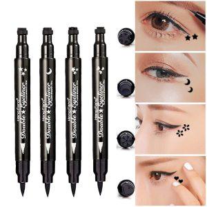 Pinkiou Eyeliner Pencil Pen with Eye Makeup Stamp